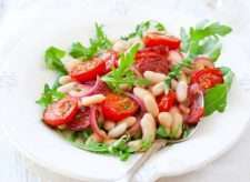 Fagioli all'insalata