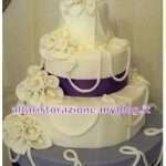Wedding cake fatta in casa