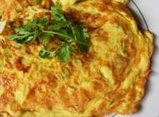 Frittata di uova classica e tradizionale